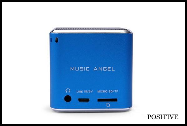 Music Angel Jh-md06 Tf Card Cube Bass Peaker Portable Mini ...