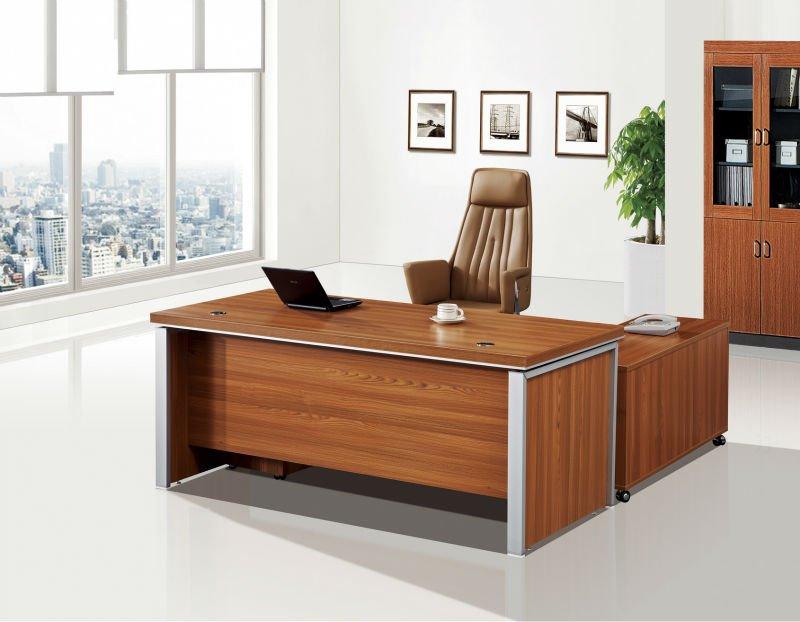 Venta caliente nuevo dise o de moda de madera de aluminio for Muebles de oficina lujosos