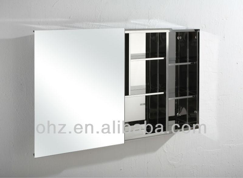 Nuovo design in acciaio inox porta scorrevole armadio stanza da