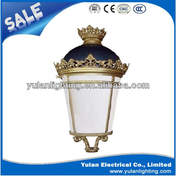Cast Iron Garden Lighting Pole .waterproof Garden Light.decorative Garden  Solar Led Light