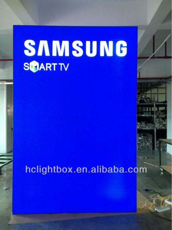 LED Backlit Outdoor Shop Front Signs Signboard Design LED Signboard led light box