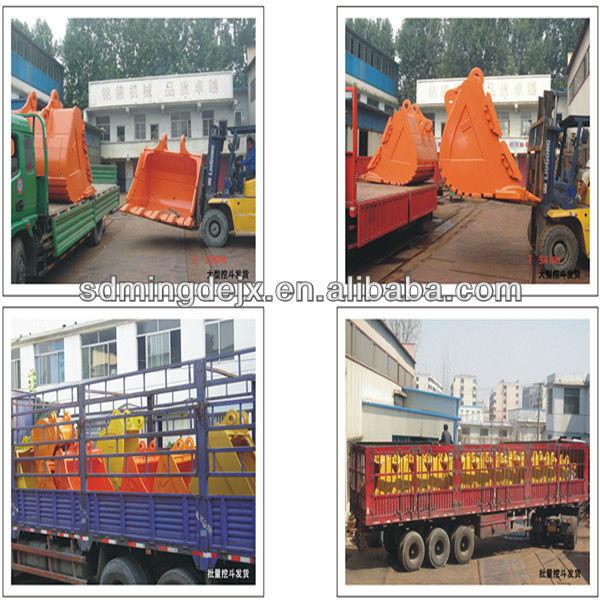 Excavators Parts Excavator Heavy Duty Bucket For Komatsu