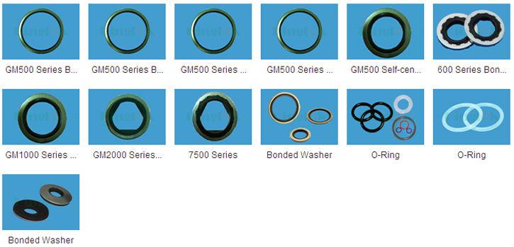 Rubber Sealing Washer Epdm Bonded Washer Bonded Seal Nylon