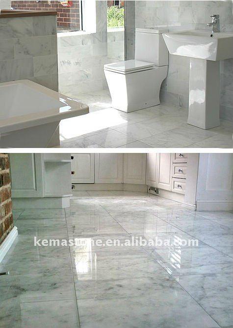 Bianco carrara mattonelle di marmo buy bianco carrara mattonelle di marmo bianco carrara - Piastrelle di marmo ...