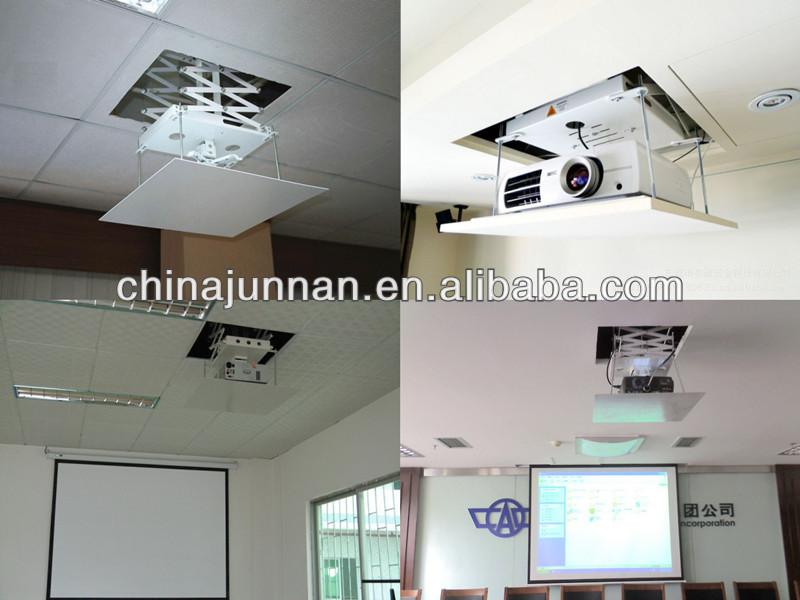 Motorized Projector Ceiling Mount / Motorized Projector Lift / Retractable  Ceiling Projector Lift Projector Mount