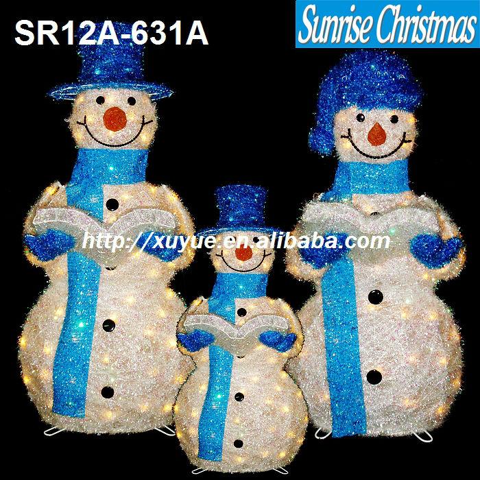 Outdoor Christmas snowman/ Light up Santa Claus/LED Christmas light (outdoor,  MOQ - Outdoor Christmas Snowman/ Light Up Santa Claus/led Christmas