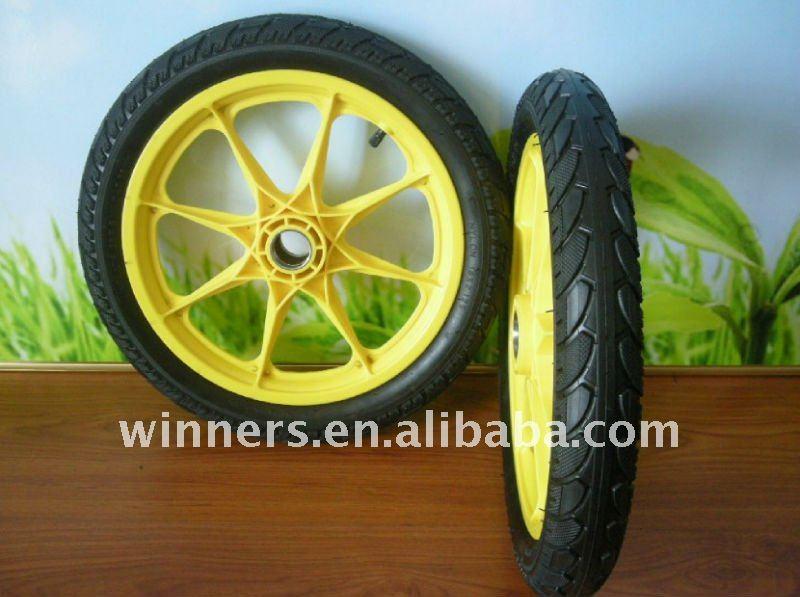 5 Bike Wheel 16x2 125 With Plastic Spoke Rim Buy 16x2 125 Bike