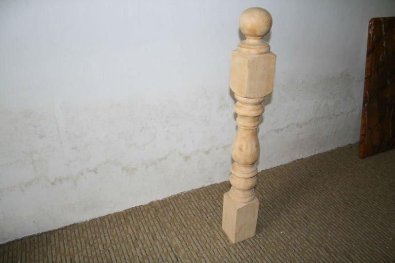 Brilliant Round Wood Post Decorative Solid Posts For Design Decorating