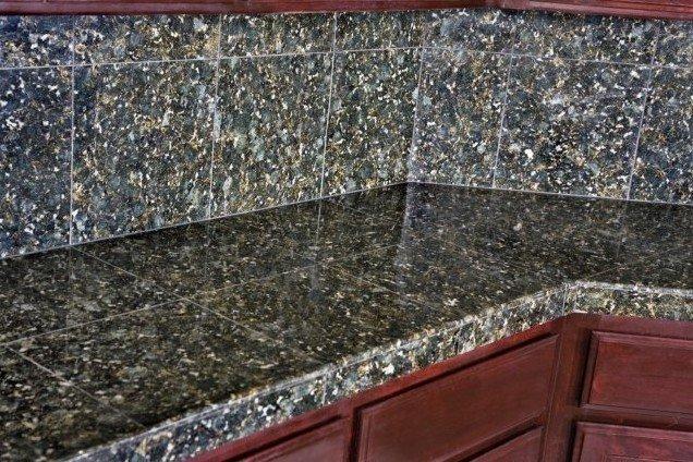 High Quality Granite Modular Tile Countertop