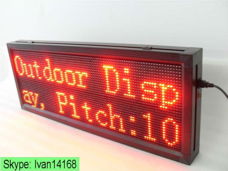 Sinoela Full Color Indoor Lights Led Message Board,Semi Outdoor ...