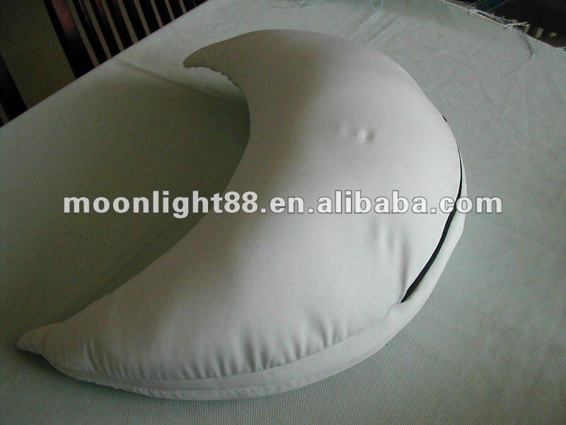 En Forma De Media Luna Microperlas Rellenos Amortiguador Trasero