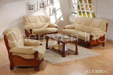 Wooden Sofa Set Wooden Cushion Sofa Set Buy Wooden Sofa