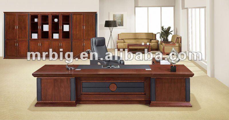 Mobiliario de oficina escritorio de madera moderna foshan muebles oficina ne1338 buy product for Escritorios de madera para oficina