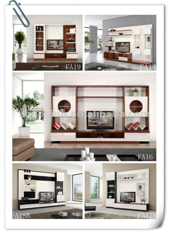 Lcd Unit Design Modern Tv: Modern Furniture Lcd Tv Cabinet Design Fa17#