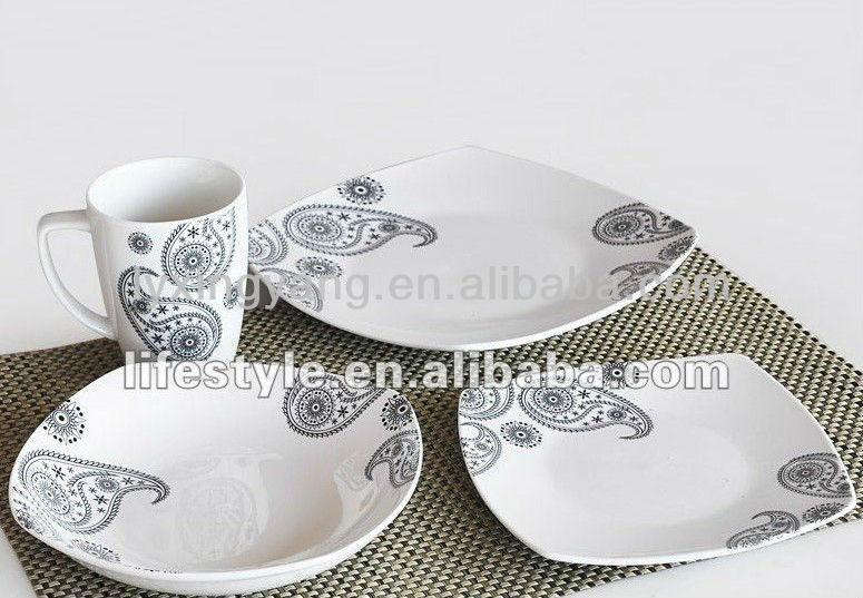 mexikanische keramik geschirr sets blumenmuster porzellan. Black Bedroom Furniture Sets. Home Design Ideas