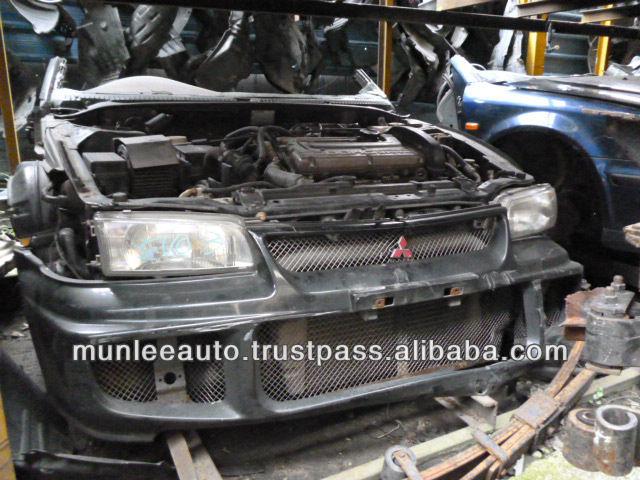 Jdm Used Engine Manual Transmission,& Ecu Front Clip For Car 4g63 ...