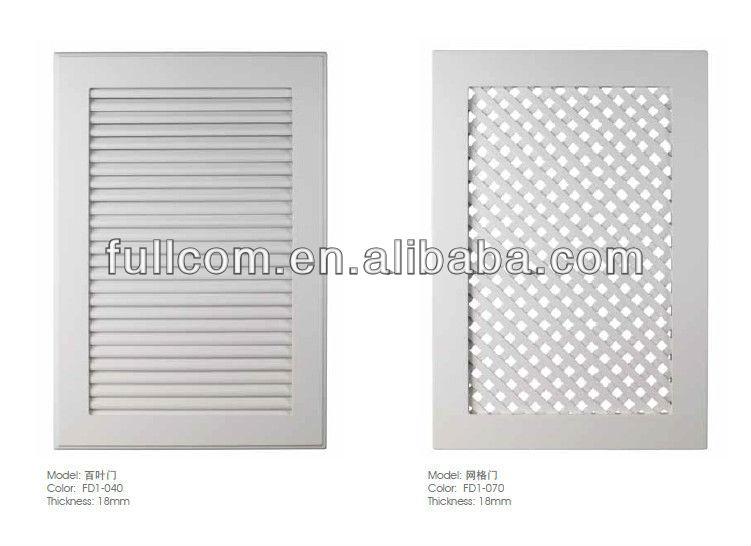 kitchen cabinet shutters cabinet vented door louvered door