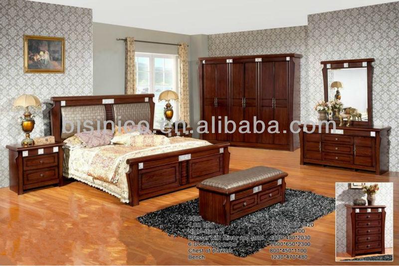 Design Slaapkamer Meubilair : Vintage design paneel bed w rugkussen klassieke massief houten
