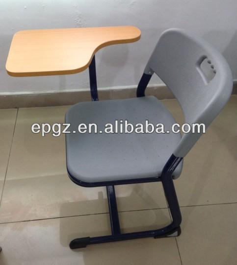 Flip Chair exam hall table & flip chair /study table & chair for exam room