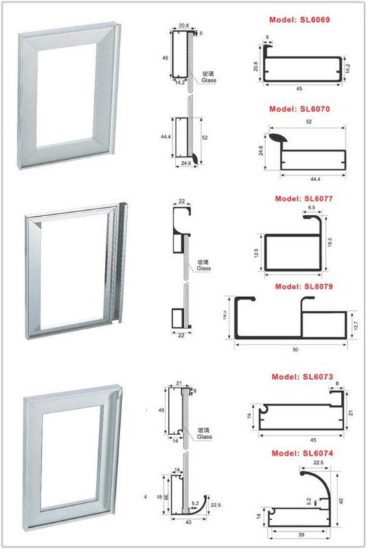 Aluminum Door Frame For Bookcase Sl6013 - Buy Aluminum Door Frame ...