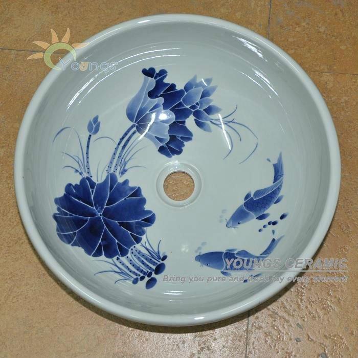 Decorative Oriental Hand Painted