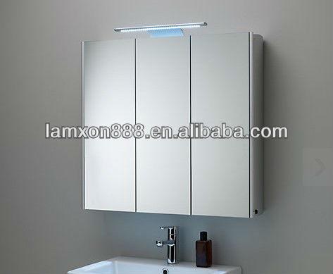Proyecto de ingenier a absoluta triple espejo mueble de - Armario de bano con espejo y luz ...