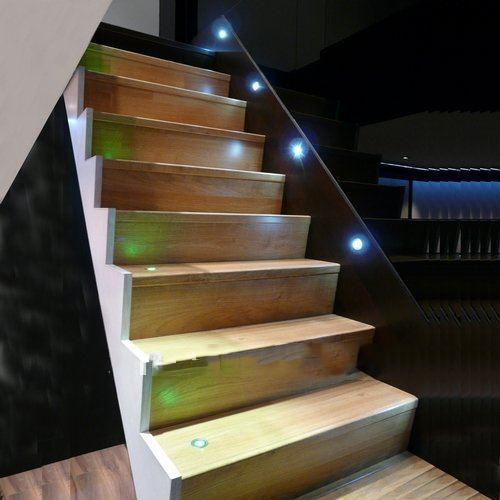 Step Lights Outdoor Low Voltage: 6pieces/lot IP67 DC 12V 0.6W LED Deck Lights Aluminum D24
