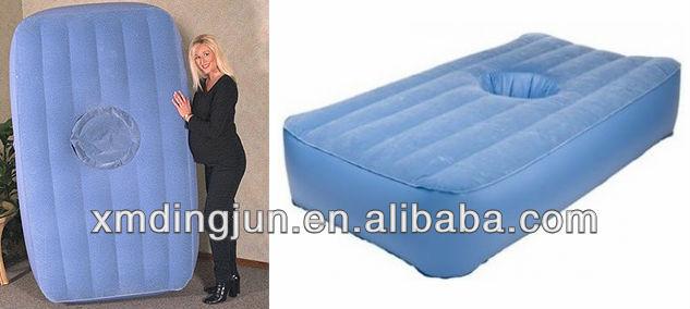 Pregant Woman Flocked Amp Pvc Massage Air Beds Ait Bed With