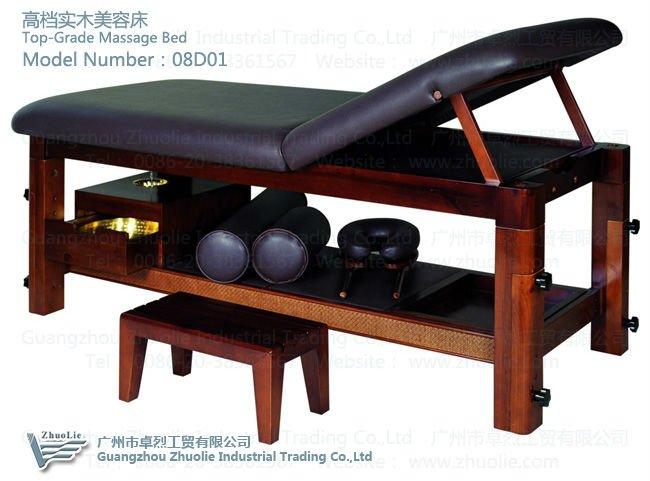 Thai ayurveda massage table beauty salon equipment 08d01 for Salon equipment manufacturers