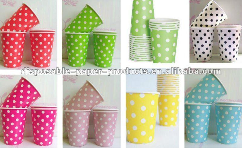 China Yiwu Polka Dots Party Decorationspink Polka Dot 12  sc 1 st  Castrophotos & Polka Dot Paper Plates And Napkins - Castrophotos