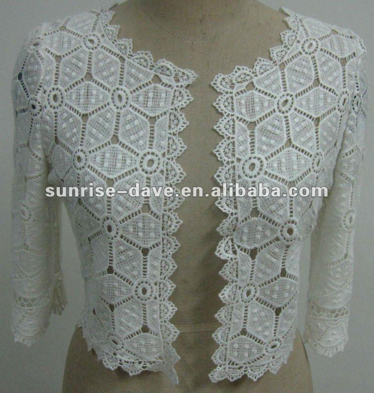 Crochet Mujeres Chaqueta/algodón Blusa - Buy Mujeres Desgaste ...