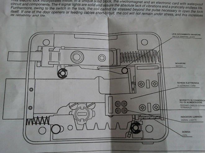 Electric Rim Lock Cisa Model Buy Electric Mechanical