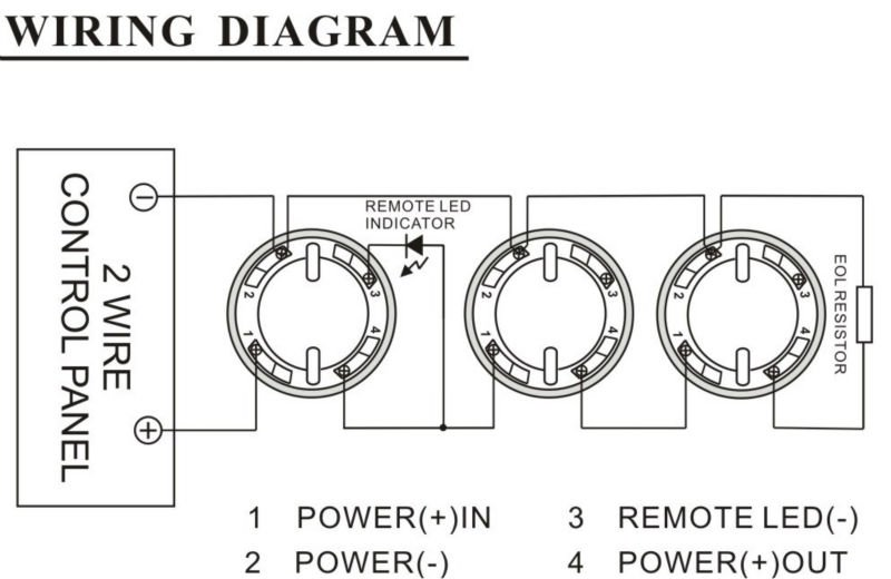 2 wire smoke detector wiring diagram   36 wiring diagram