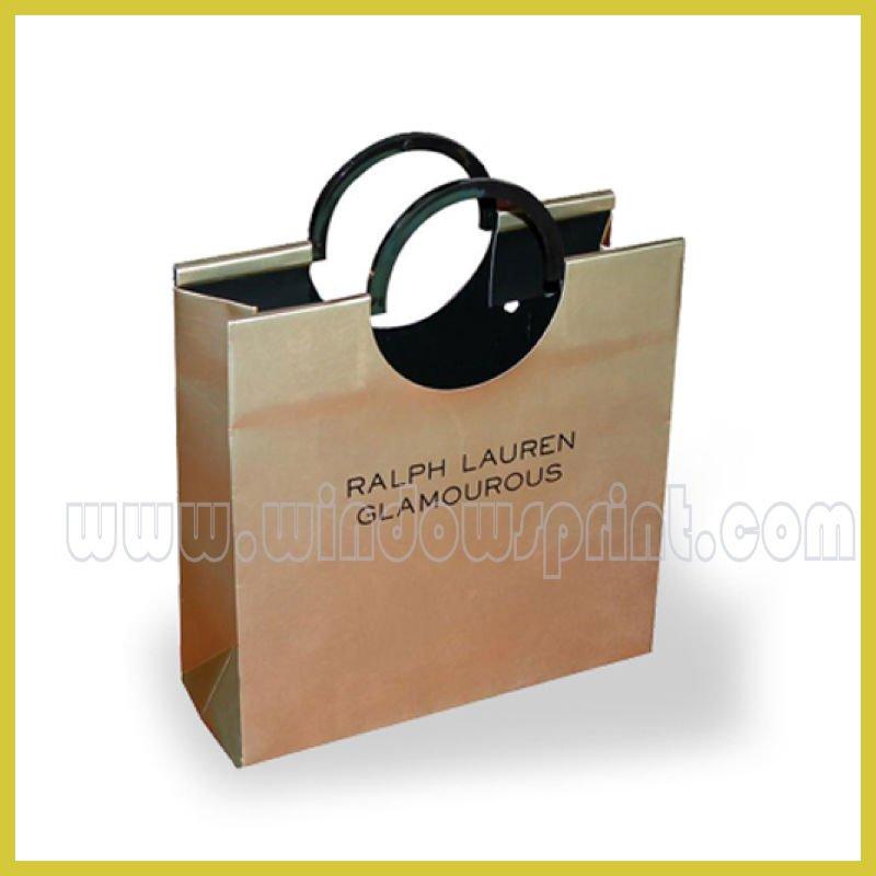 White Paper Clothing Bag