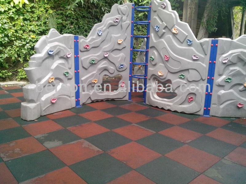 Palestra pesi piastrelle di gomma balcone gomma pavimento campagna