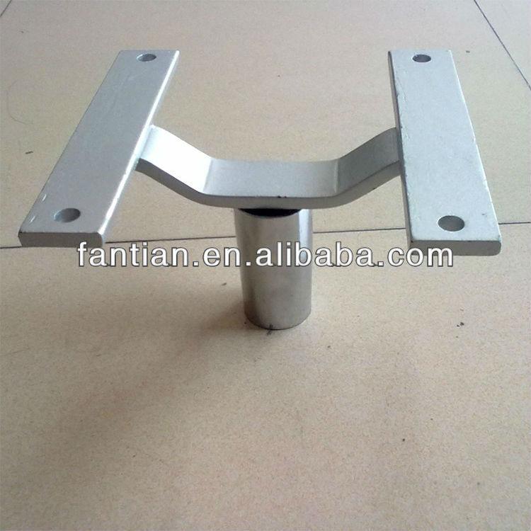Furniture Legs Chrome high quality chrome sofa bases flat polish metal replacement sofa