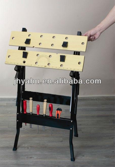 Fold Down Portable Mobile Diy Workbench Clamping Work Table Bench Vice Buy Mobile Workbench