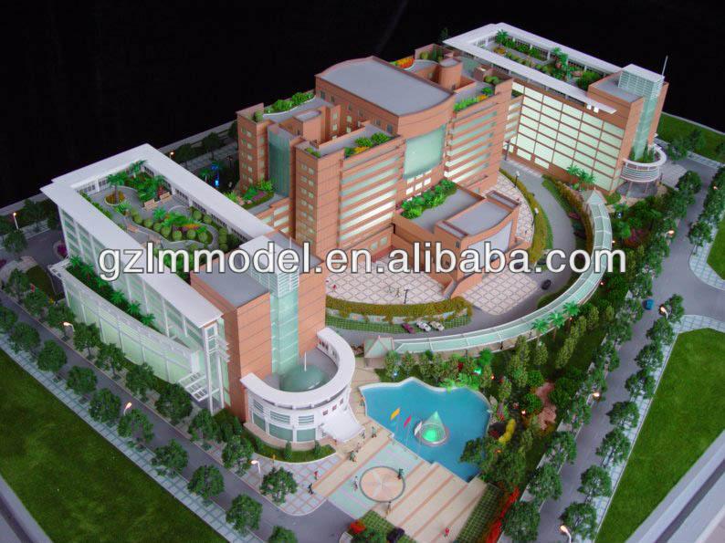 Modern Office Building Model Design,Landscape Planning Service ...