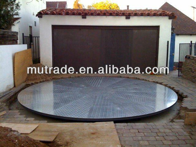 Auto motor revolving vehicles plate rotating platform for for Large motorized rotating platform