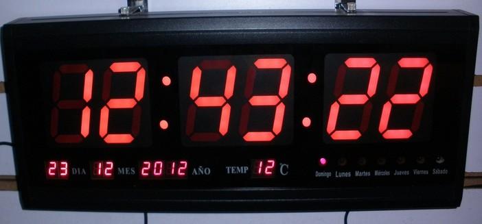 3 RedGreenBlue Digital Led Wall Clock Buy Large Digital Led