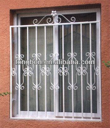 2013 Top-selling New Modern Metal Window Grills Design