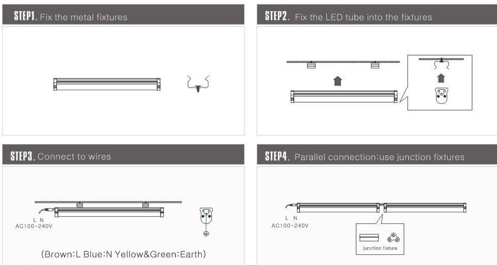 Led tube wiring diagram