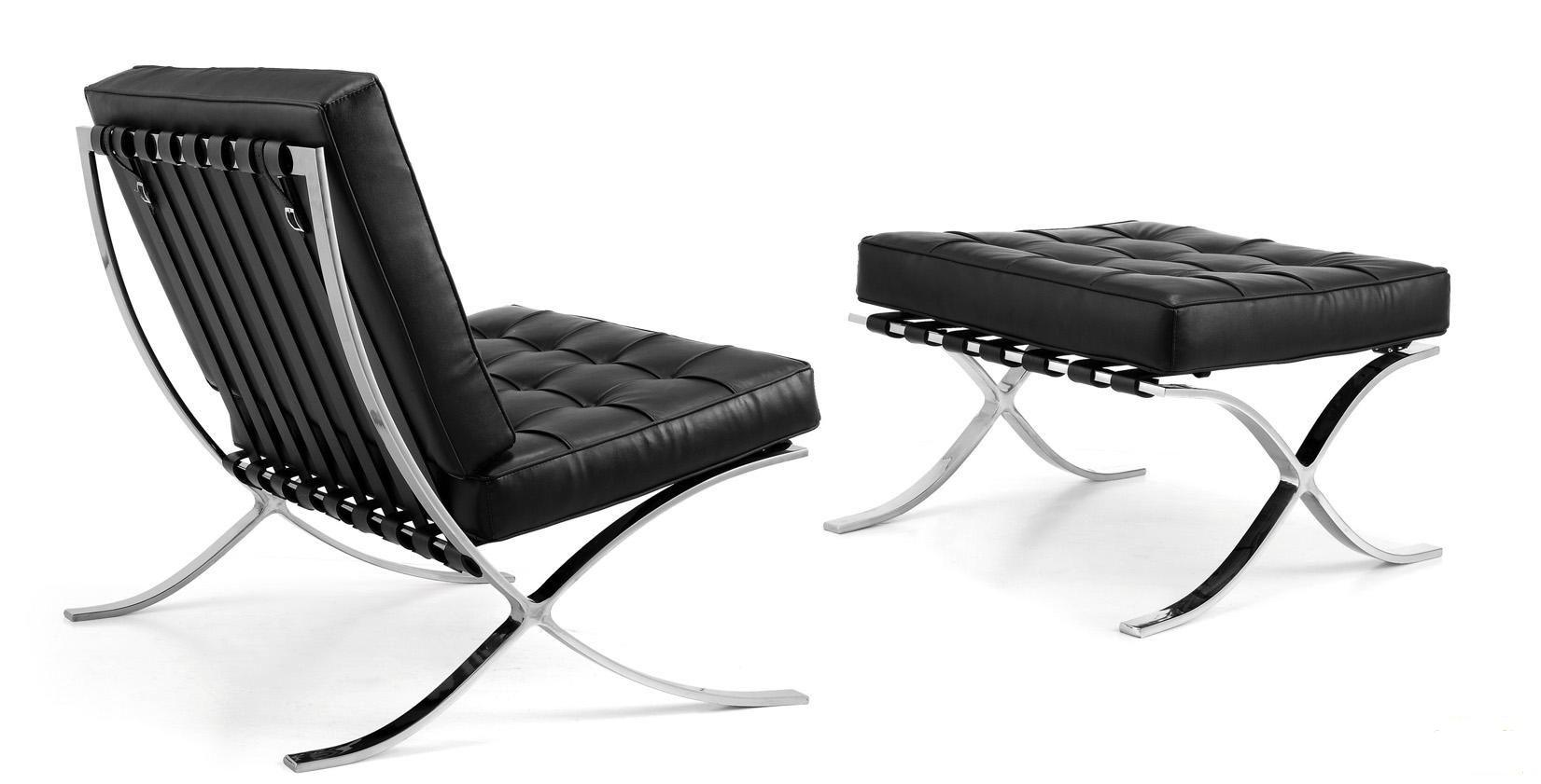 Barcelona chair back -