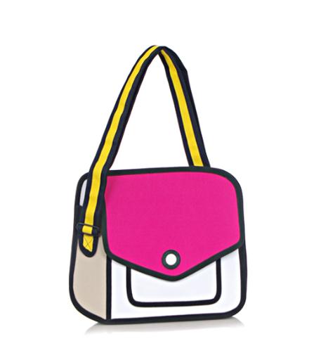25cb85a051 Cartoons Bag Three-dimensional One Shoulder Jump Women s Handbag from Handbag  Cartoon Paper 3D Bag