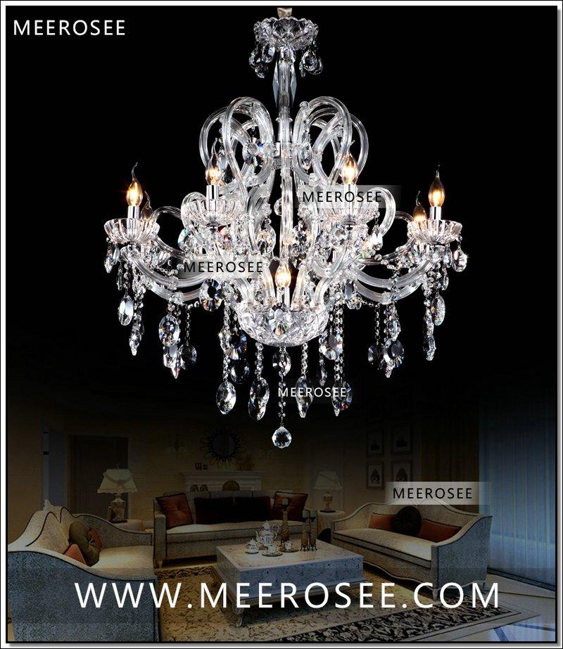 Hot Ing E14 Contemporary Chandelier Light Gl Crystal Pendant Design