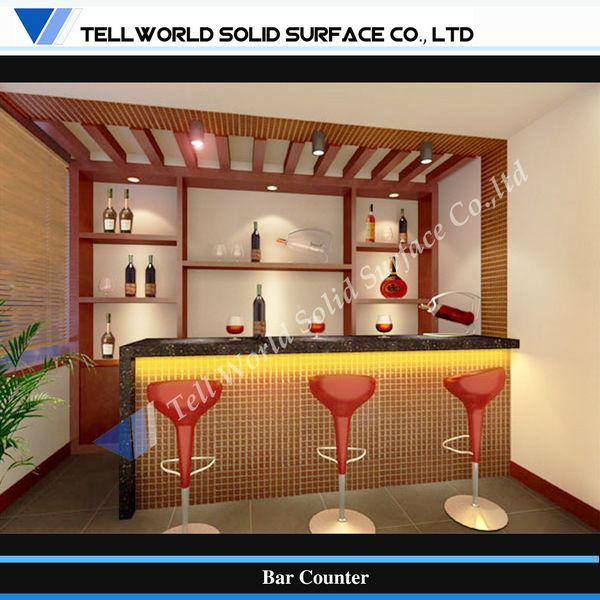 Modern design commercial buffet restaurant self service counter buy restaurant self service - Mini bar cuisine ...