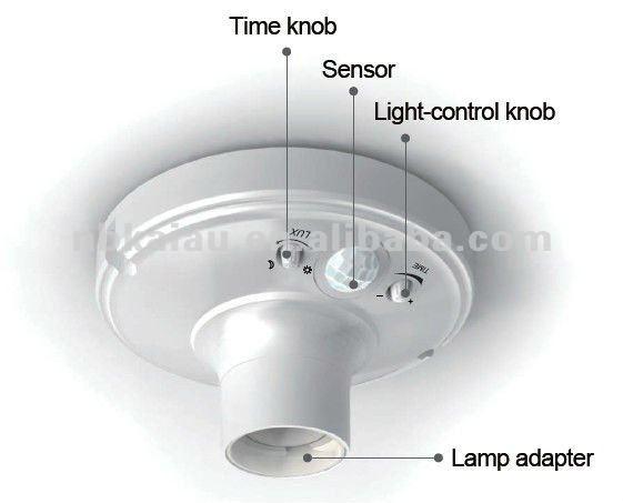 High Quality E27 Sensor Lamp Holder - Buy Sensor Lamp Holder ...