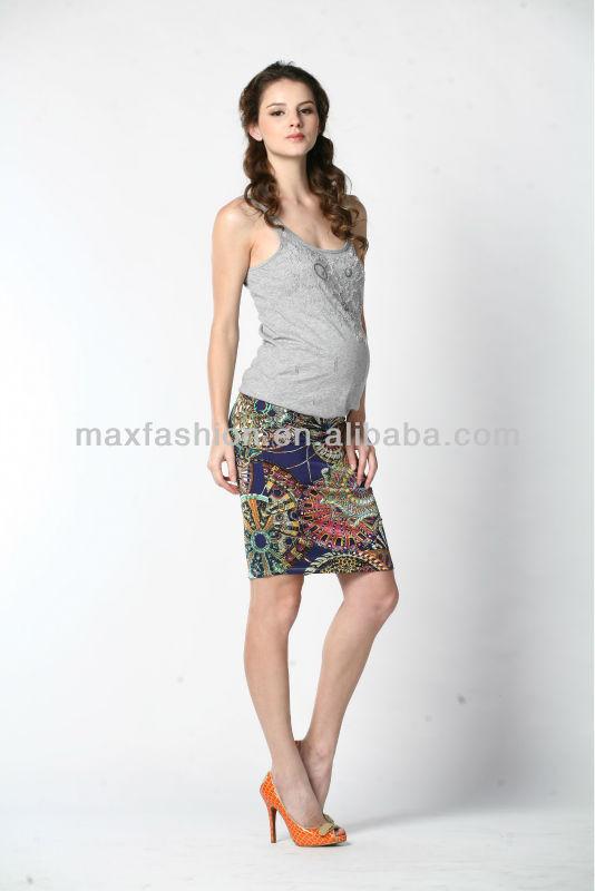 c97b7e9b992c1 Maternity Printed Formal Short Skirt - Buy Short Skirt,Indian Skirts ...