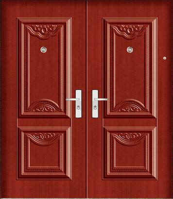 Images of Double Wooden Door Design - Woonv.com - Handle idea