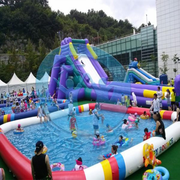 Giant Inflatable Water Slide Exporter Inflatable Swimming Pool Slide Inflatable Slides For
